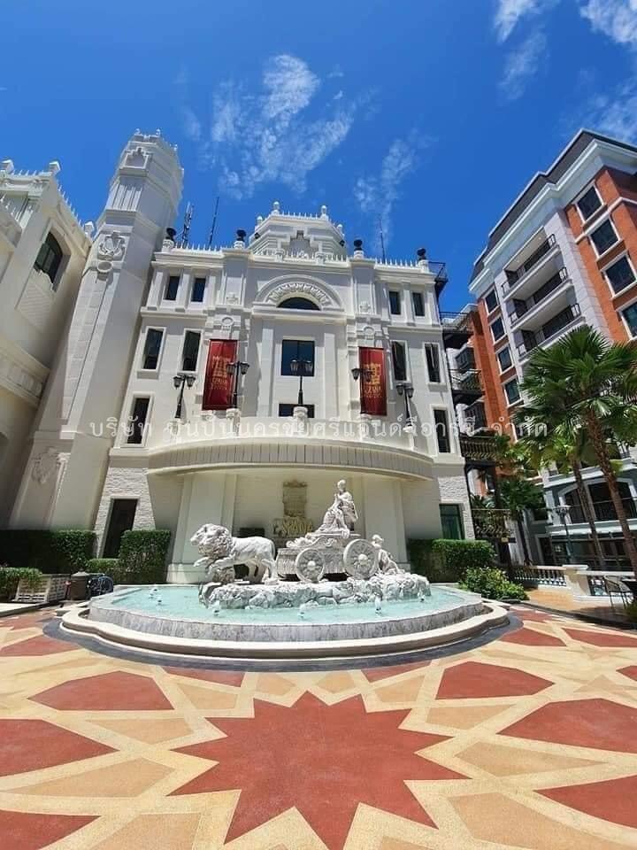 โครงการก่อสร้างClub-House Espana Condo Resort Pattaya